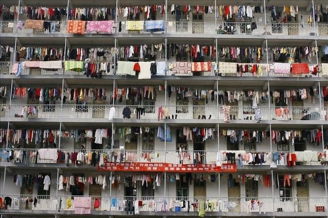 китайское общежитие