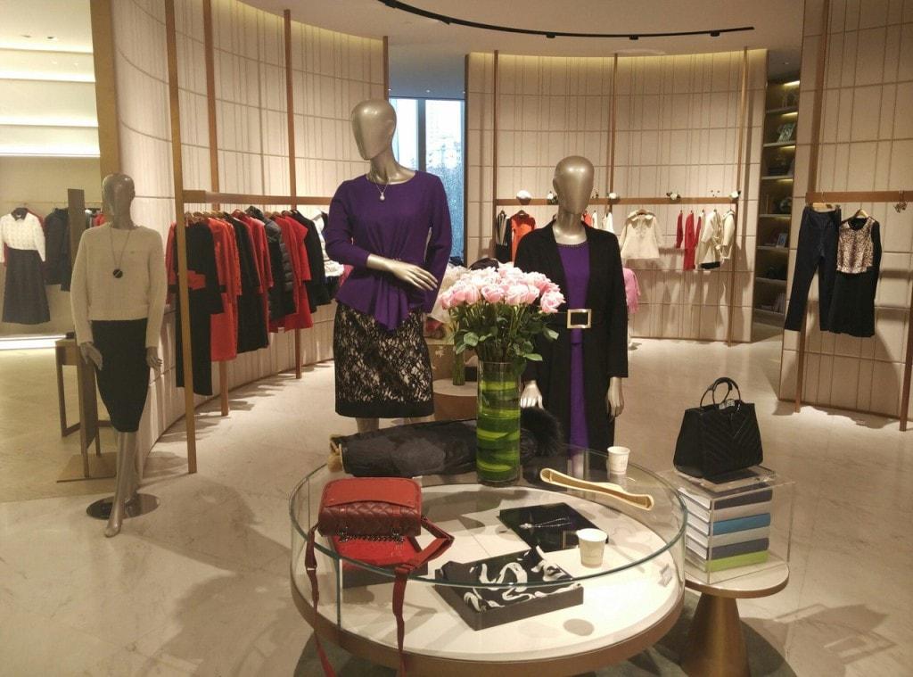 китайский магазин одежды