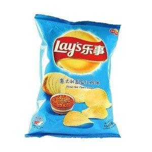 чипсы лейс в китае
