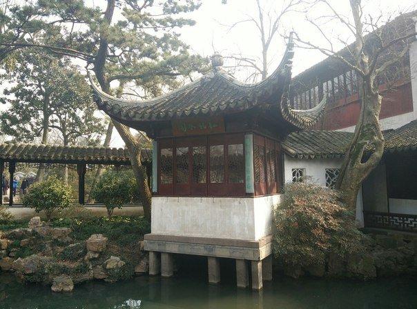 сад скромного чиновника сучжоу