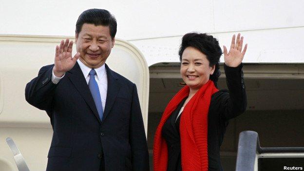 жена президента китая