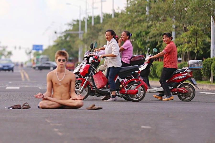 Модель в Китае