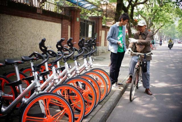 велосипед в шанхае
