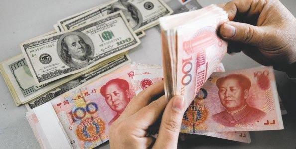 обмен юаней в доллары
