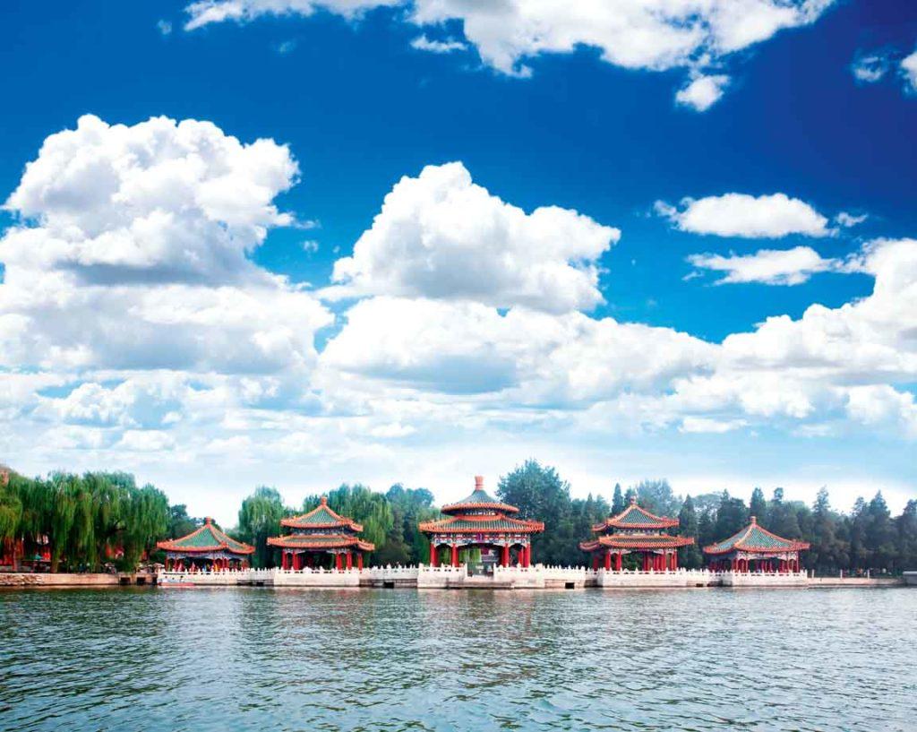 парк бейхай в пекине