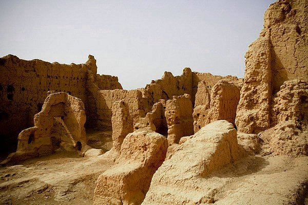 древний город синьцзян