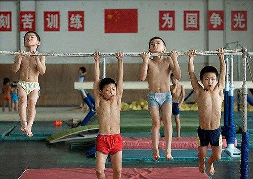 китайские олимпийцы