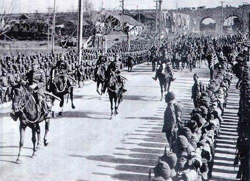 наступление японцев на китай