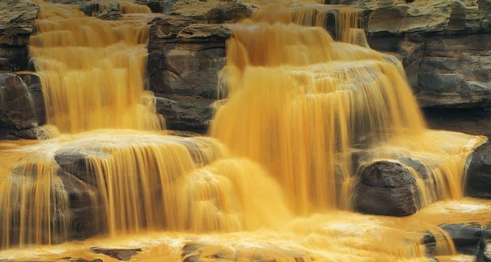 хукоу водопад