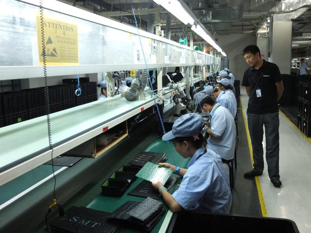 завод oppo в китае