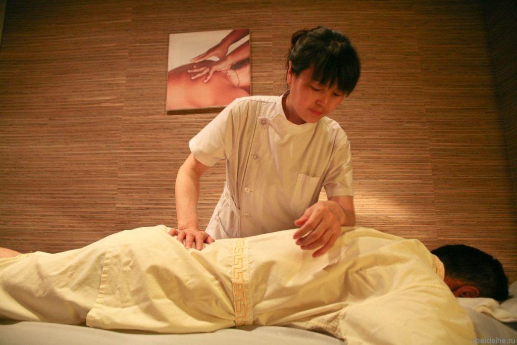 массаж в китайской бане
