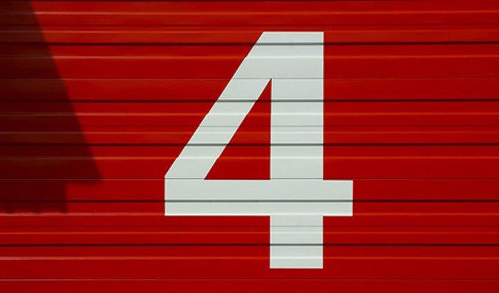 4 в китае