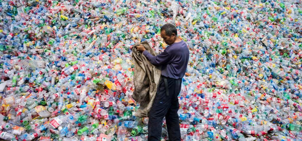 китайцы мусор