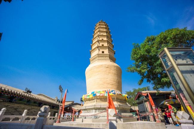 белая пагода ланьчжоу