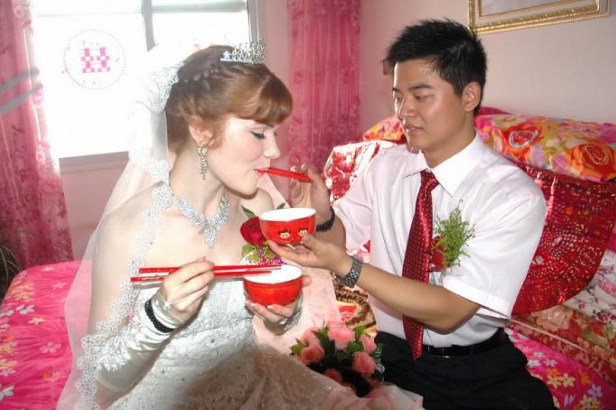 китайцы и русские жены